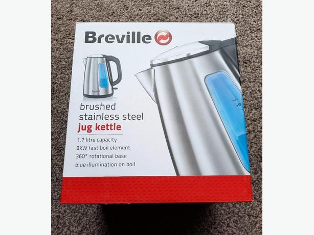 Brand New Breville Brushed Stainless Steel jug Kettle