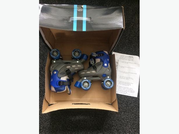 Brand new SFR racing storm roller skates, adjustable size 12-2