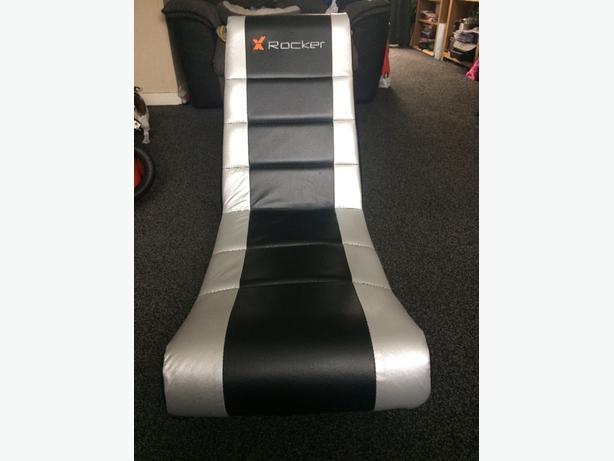 Foldable X Rocker gaming chair