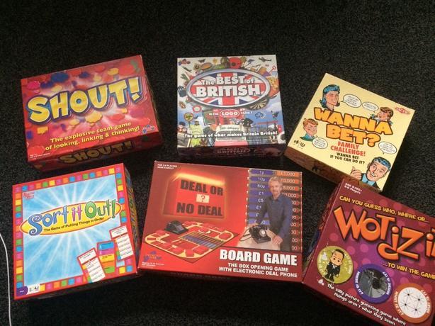 Board games bundle (6 games)