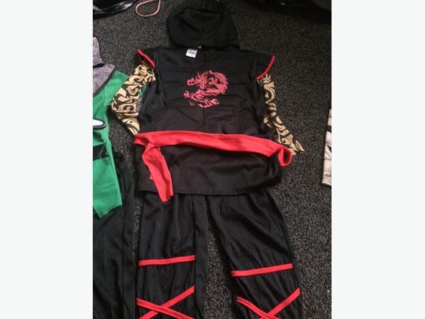 Boys Ninja costume aged 5-7