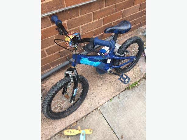 """kids 12"""" skylanders bike"""