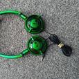 skullcandy lowrider headphones green