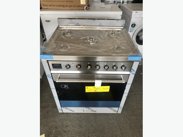 NEW/GRADED Smeg C7GPX9 Dual Fuel Cooker - Stainless Steel - A Rated   RRP £1,179