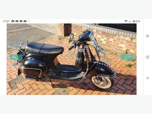 Swap for Honda XR 125