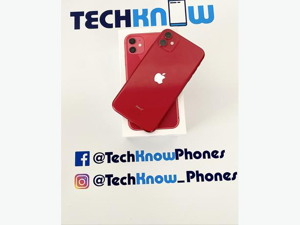 Apple iPhone 11 64GB unlocked Red Boxed £379.99