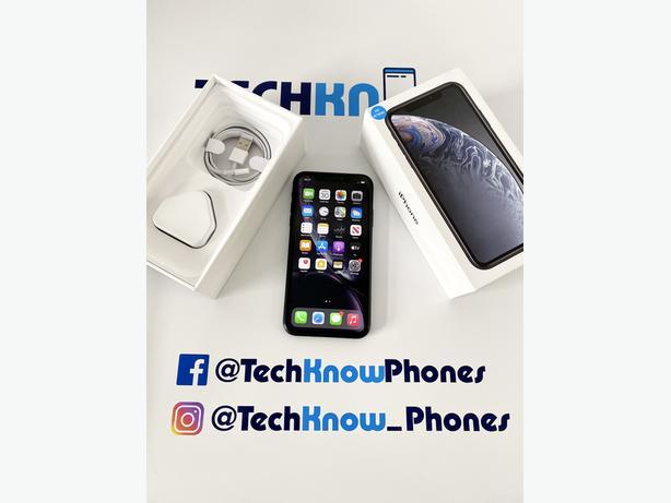 Apple iPhone XR 128Gb unlocked Black Boxed £279.99