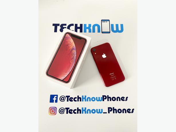 Apple iPhone XR 64GB unlocked Red Boxed £269.99