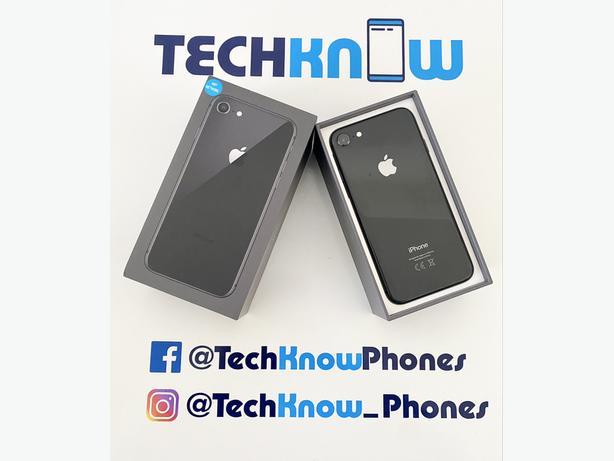 Apple iPhone 8 64GB unlocked Space Grey Boxed £179.99