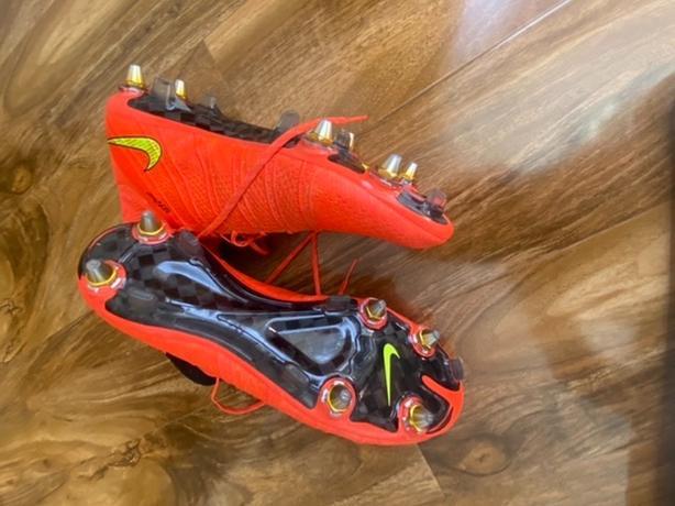 very rare original superfly soft ground football boots