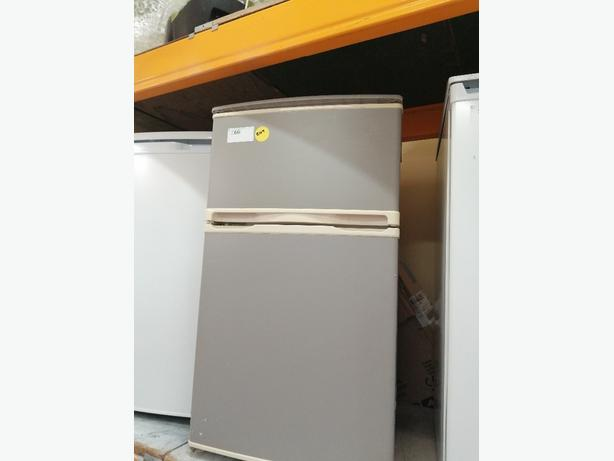 Grey undercounter fridge freezer with warranty at Recyk Appliances