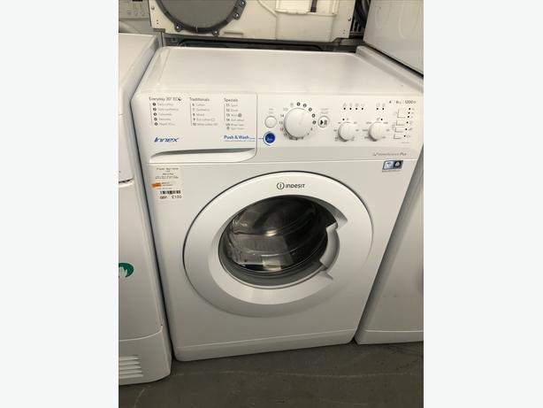 🟩🟩 INDESIT 6KG WASHING MACHINE / WASHER - WITH 3 MONTHS GUARANTEE 🟩🟩