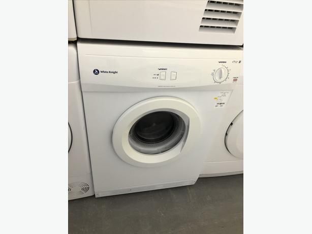 🟩🟩 WHITE KNIGHT 7KG VENTED DRYER- WITH 3 MONTHS GUARANTEE 🟩🟩