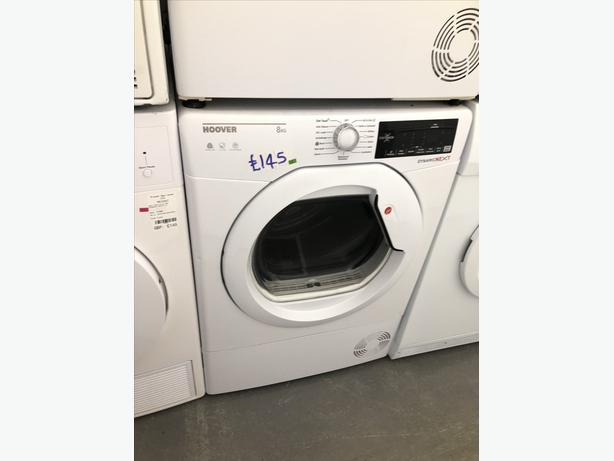 🟩🟩 HOOVER 8KG CONDENSER DRYER- WITH 3 MONTHS GUARANTEE 🟩🟩