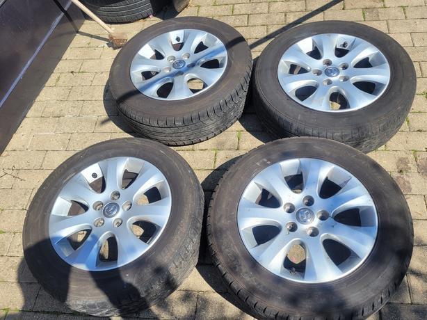 Vauxhall Astra J  diesel 4 x alloy wheels 2015 car