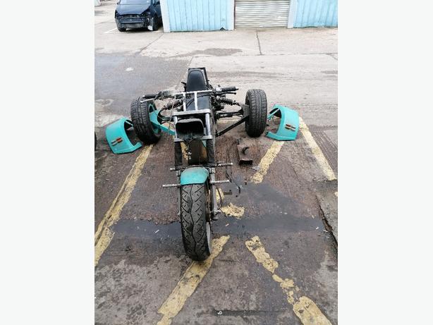 2CV Trike, Road Registered on a Q Plate