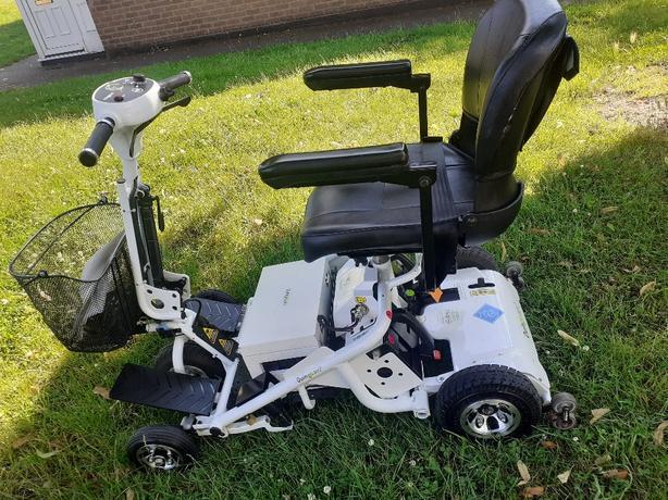 quingo air 2mobility scooter