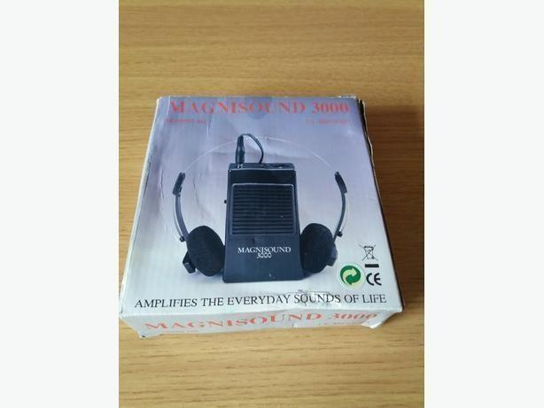 Magnisound 3000 Assistive Hearing Device TV AMPLIFIER