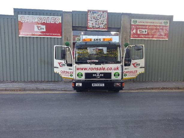 man recovery truck 7.5 ton £2350.00 no offers