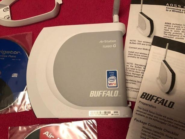 Buffalo WHR-G54S-1 125Mbps Wireless Broadband Router
