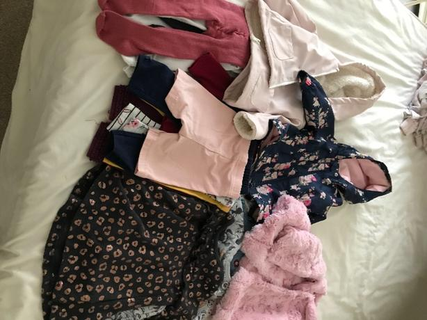 girls clothes and jackets