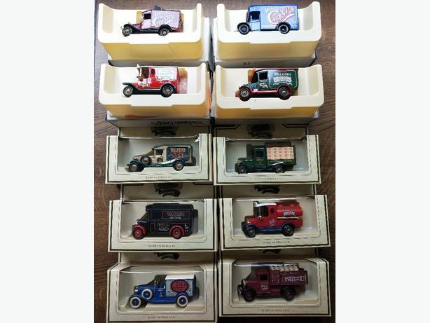 Model Vehicle collection Walker's Crisps