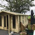 Oswald (8ftx6ft) Summer House