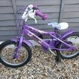 Two girls bikes