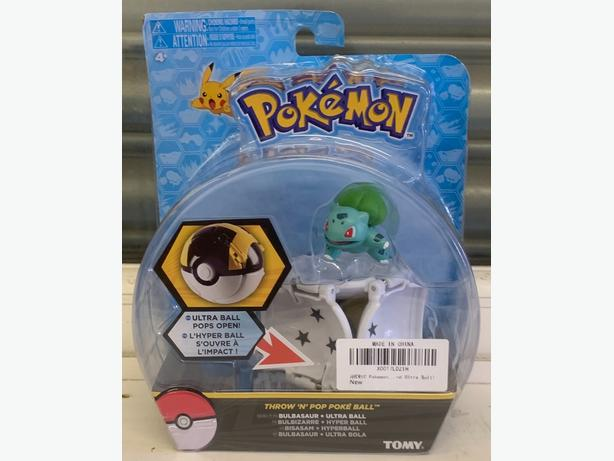 pokemon ball with bulbasaur