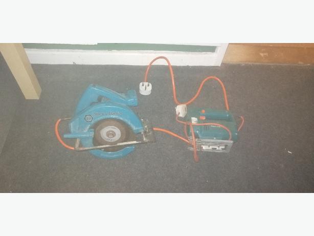 black and decker circular saw and jigsaw - £25 -