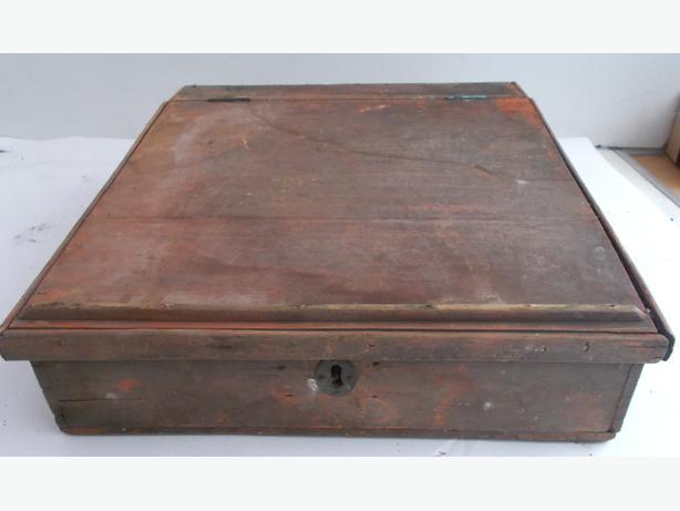 Vintage School Desk Box