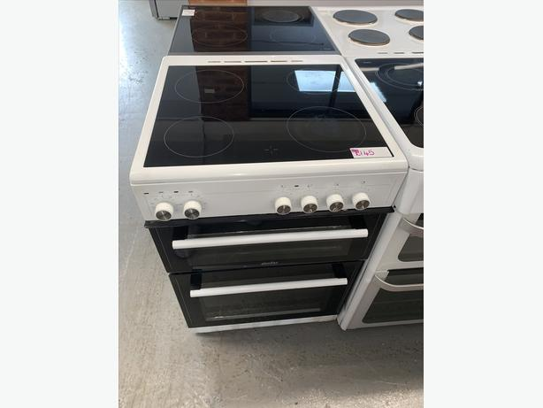 PLANET APPLIANCE - 60CM SIMFER ELECTRIC COOKER IN WHITE