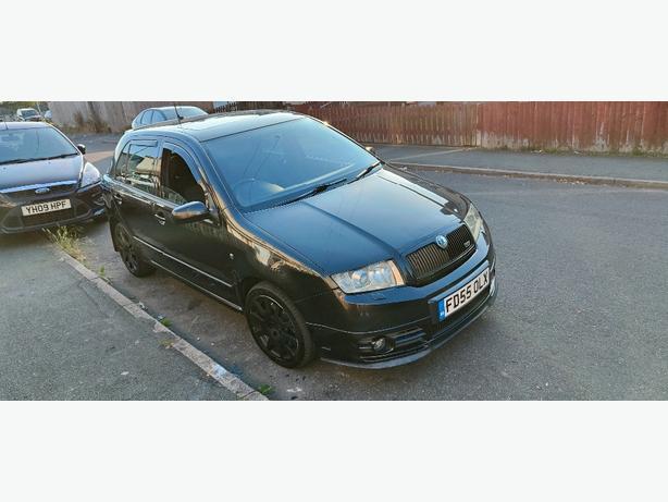 Skoda Fabia VRS not ford vauxhall seat turbo diesel audi px swap