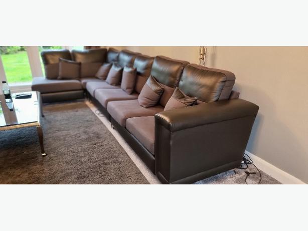 7 Seater corner sofa set