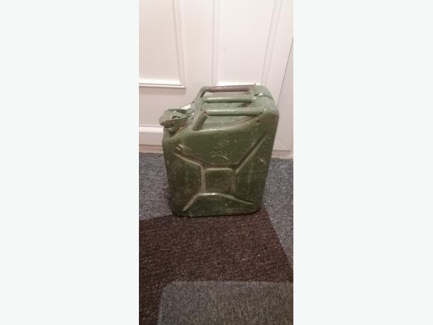 20L jerry can with 10L of diesel - £15 - Delivery -