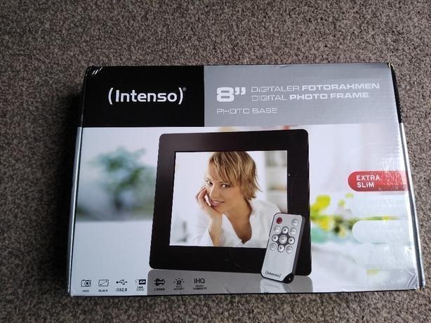 "Intenso 8"" Digital Photo Frame"