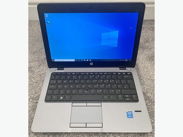 "HP ELITEBOOK 12.5"" LAPTOP INTEL I7 8GB RAM 240GB SSD WINDOWS 10 OFFICE 16"