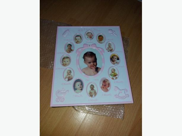 Brand new my First year baby photo Frame