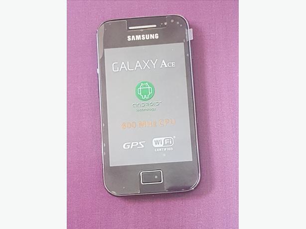 NEW Samsung Galaxy Ace Black S5830i 3G.