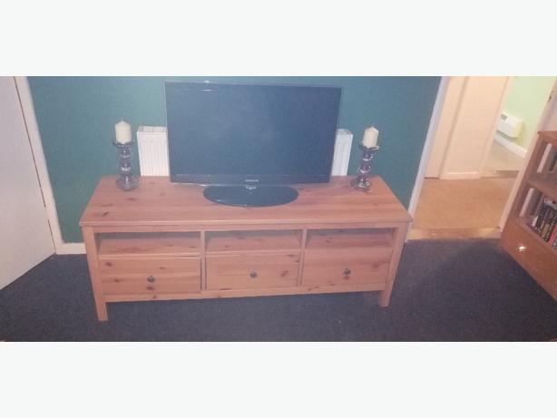 IKEA solid pine TV stand - can deliver - £30 -