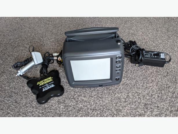 "Vintage goodmans c530 portable 5"" tv"