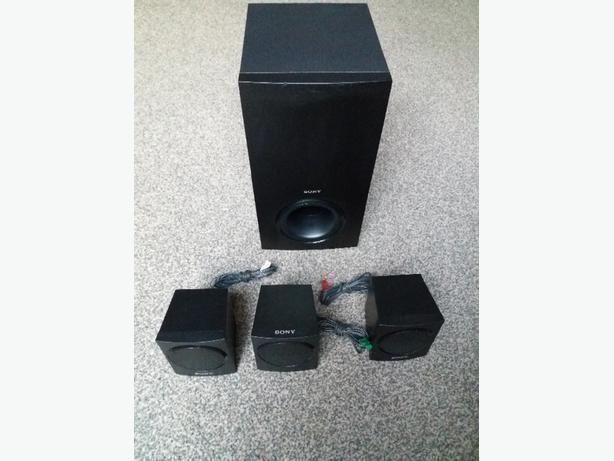 SONY SS-SW 103 Speaker System 4pcs
