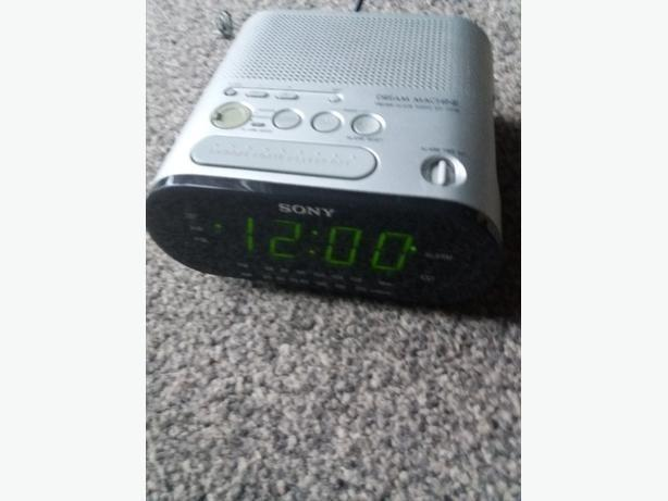 sony alarm clock radio icf-c218