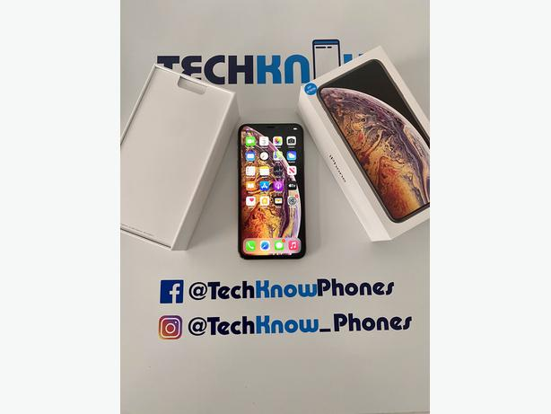 Apple iPhone XS Max 64GB unlocked Gold Boxed £349.99