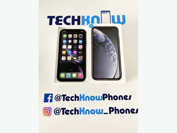 Apple iPhone XR 128GB unlocked Black Boxed £259.99