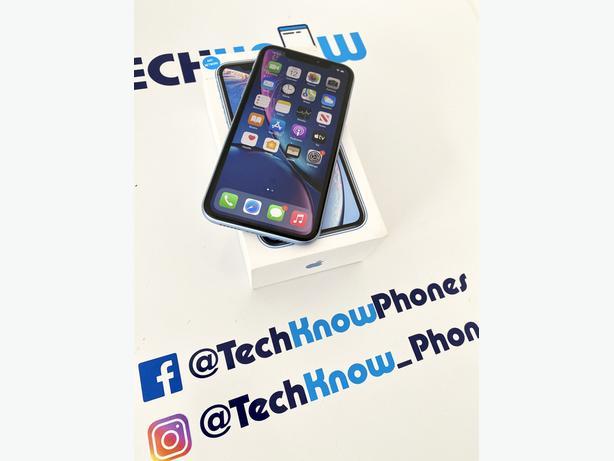 Apple iPhone XR 64GB unlocked Blue Boxed £249.99