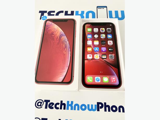 Apple iPhone XR 64GB Unlocked Red Boxed £249.99