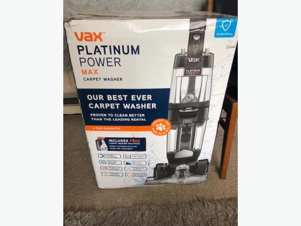 VAX PLATIMUM POWER MAX CARPET WASHER