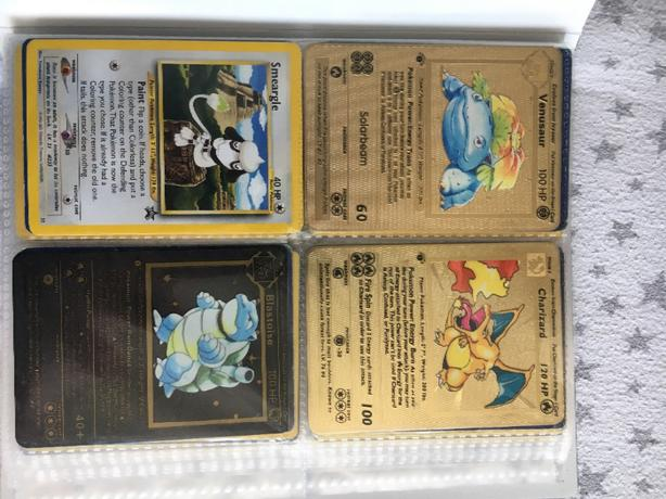 pokemon cards from 1995 mainly all holo black stars