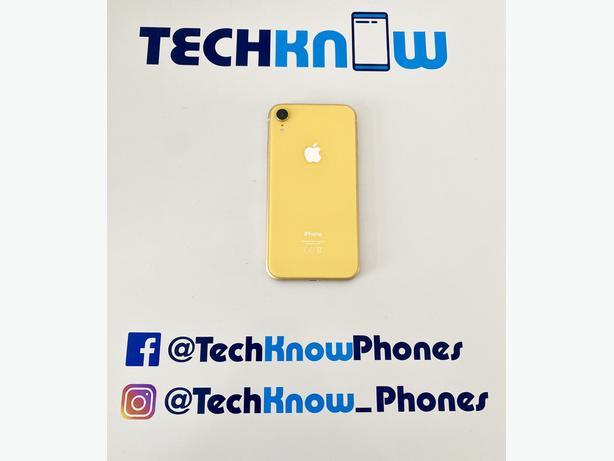 Apple iPhone XR 128GB unlocked Yellow - £269.99
